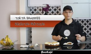 Receitas práticas BooKafé – Torta Banoffee