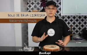 Receitas práticas BooKafé – Bolo de erva cidreira