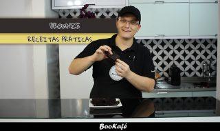 Receitas práticas BooKafé – Brownie