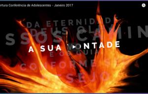 Abertura Conferência de Adolescentes – Janeiro 2017