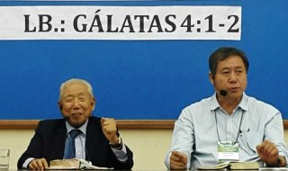 Conferência regional em Brasília com Dong Yu Lan