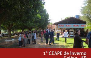 Convite para 1° Ceape de inverno da região 8B em Colina-SP