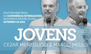 Fórum de experiências Serviço de jovens – Cezar Menegucci e Marco Mello