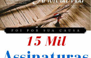 15 Mil Assinaturas do JAV!