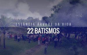 22 Batismos na conferência de jovens – Janeiro 2016