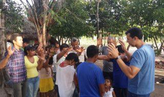 Visita as igrejas da Amazônia e Roraima