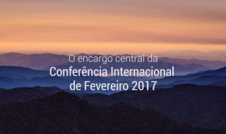 VÍDEO – Ponto culminante da Conferência de Fevereiro 2017 na Estância Árvore da Vida