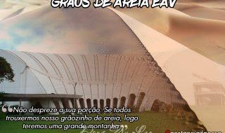 GRÃOS DE AREIA EAV – 6ª PARCELA VENCEU 15/03/2018
