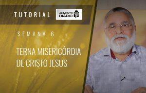 Alimento diário – A fé do Evangelho – Semana 06 – Filipenses (2) – Terna misericórdia de Cristo Jesus