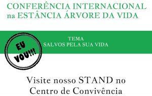 Editora Árvore da Vida na Conferência Internacional