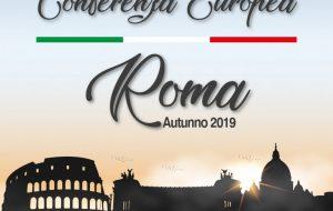 Conferência Europeia em Roma, Itália