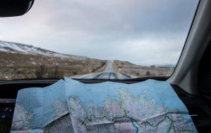 O combustível e o mapa