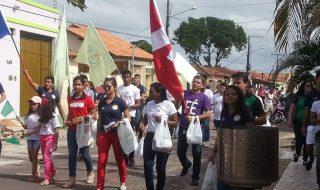 Caminhada de Evangelização em Castanhal