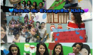 """Lançamento """"Sócios do Evangelho KIDS"""""""