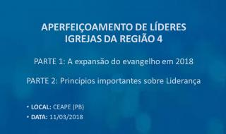 Aperfeiçoamento de Presbíteros e Diáconos das Igreja da Paraíba | 11 MAR/2018