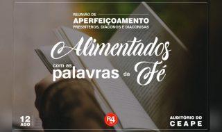 Aperfeiçoamento de Presbíteros e Diáconos e Diaconisas das Igreja da Paraíba | 12 de agosto de 2018