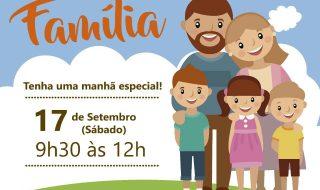 Sábado da Família – evento para a comunidade realizado pela igreja em Sumaré – 17/09/16