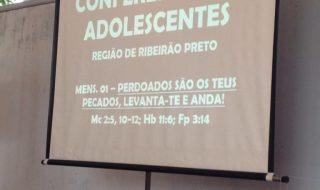 Notícias e fotos – Conferência de adolescentes da microrregião de Ribeirão Preto – 28-29/05/16