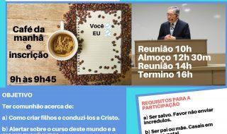 Correção do e-mail para envio das inscrições para a 3ª Conferência Anual de Pais da Região 8B, dia 15/11/17, em Campinas