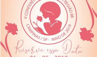 Convite para V Conferência de Irmãs da Região 8B em Campinas – 01/05/2019
