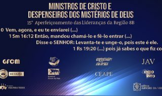ÁUDIO – 15º APERFEIÇOAMENTO DE LIDERANÇAS DA REGIÃO 8B