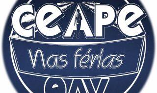 Convite para o CEAPE nas Férias EAV 2021 Online